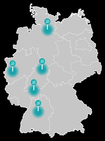 S DRIVE Kfz Gutachter Standorte Deutschland