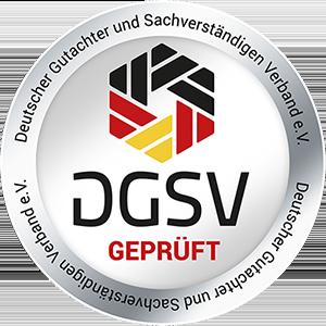 Kfz Gutachter S Drive - Siegel DGSV Firmen rundSiegel DGSV Firmen rund