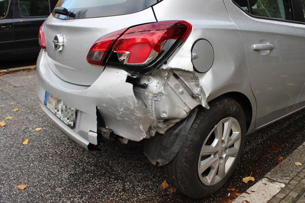 Unfall als Geschädigter