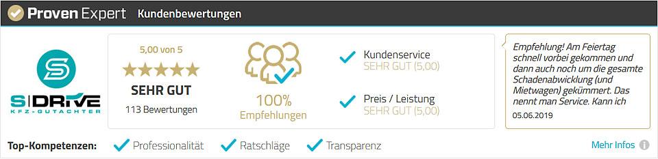Kfz Gutachter Hamburg S DRIVE Proven Expert