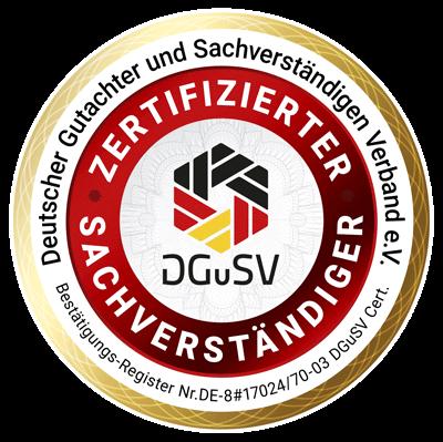 Kfz Gutachter S DRIVE Zertifizierung