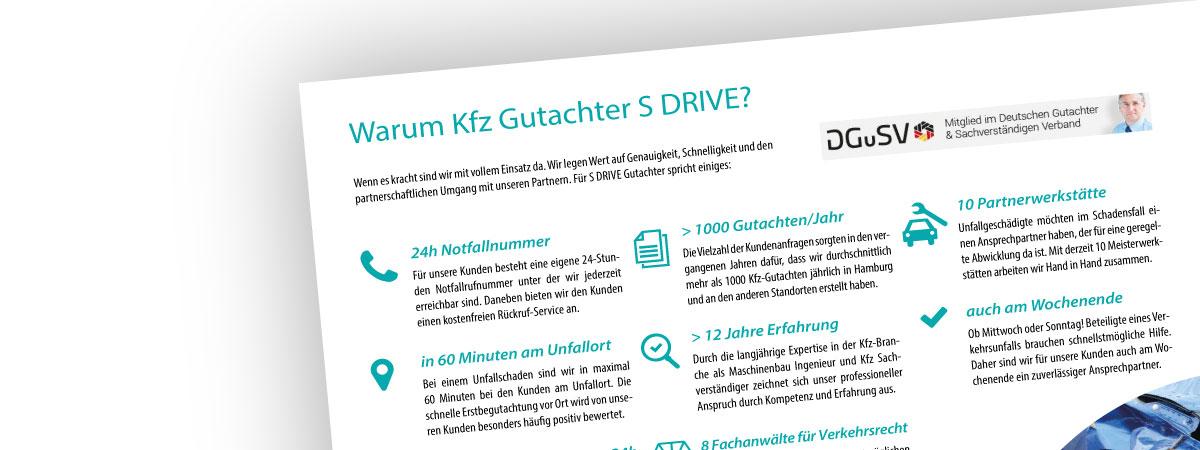 Warum Kfz Gutachter S DRIVE
