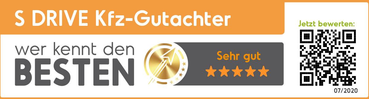 Kfz Gutachter Hamburg S DRIVE Auszeichnung
